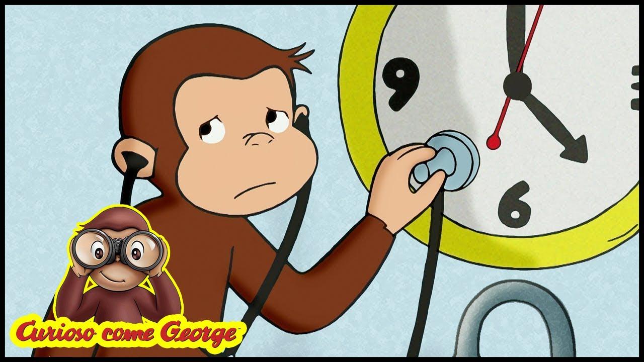 Curioso come george 🐵 112 il dottor scimmia 🐵 cartoni animati per