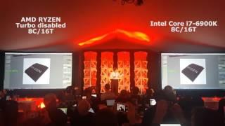 amd ryzen 34 ghz vs intel core i7 6900k