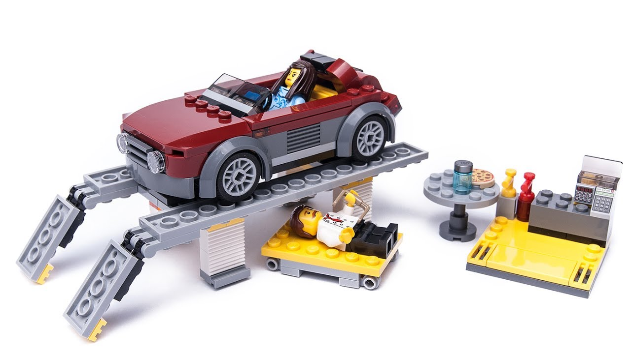 lego city 60150 custom moc supercar service youtube. Black Bedroom Furniture Sets. Home Design Ideas