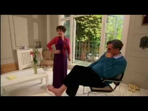 Jim Carter and Imelda Staunton in Fame In The Frame  1