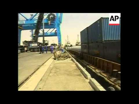 VOICER Umm Qasr reopens to commercial shipping for first time since war