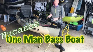 Viewers Rig: Nucanoe Frontier With a Bow Mount Trolling Motor