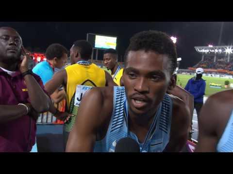 IAAF/BTC World Relays Bahamas 2017 - 4X400m Men Team Botswana Silver