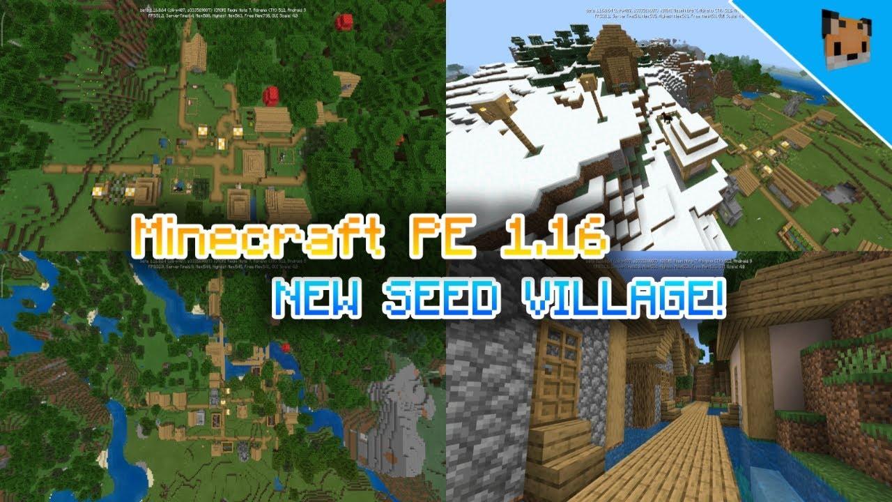 Minecraft pe 100.1006 seed snow village - mcpe 100.1006 seed coastal Village