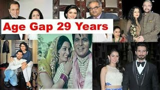 Bollywood Actor Age Gap
