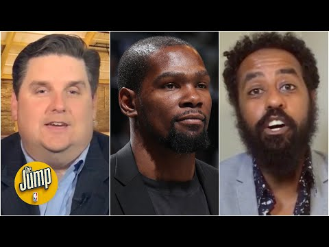 The Jump reacts to Kevin Durant picking the Clippers over the Bucks in the NBA Finals