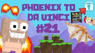 Growtopia - Phoenix To Da Vinci #21 | COLLECTING WLS!!