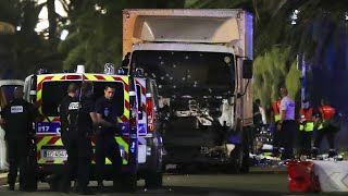 Truck Drives Into Crowd in France, Killing Dozens