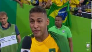 """Neymar, """" Agora vocês vão ter que me engolir! """" ( ZAGALLO ) FINAL OLIMPIADAS RIO 2016"""