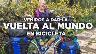 Vamos a dar la vuelta al mundo en bicicleta