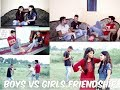 Girls Friendship Vs Boys Friendship II Cutiyapa Vines