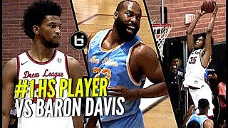 Marvin Bagley III vs Baron Davis! #1 High School Player DOES IT AGAIN at the Drew League!
