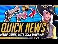 Overwatch | NERF GUNS, ASHE HEAD HITBOX PROBLEMS [Quick News]