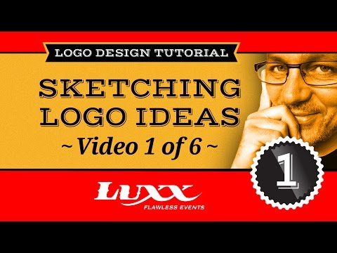 Logo Design Tutorial Part 1 - Sketching Logo Concepts