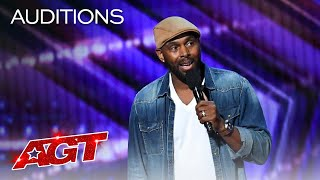 Comedian Ty Barnett Will Make You Laugh With This Stand-Up! - America's Got Talent 2020