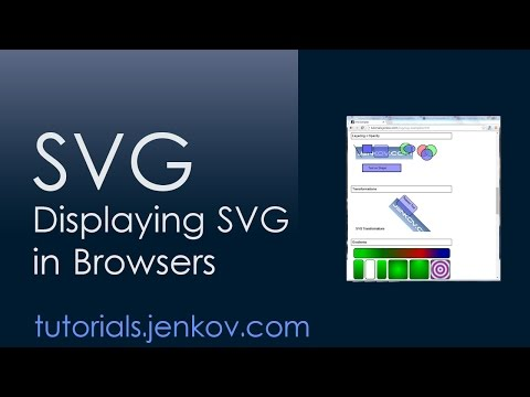 Displaying SVG in Web Browsers