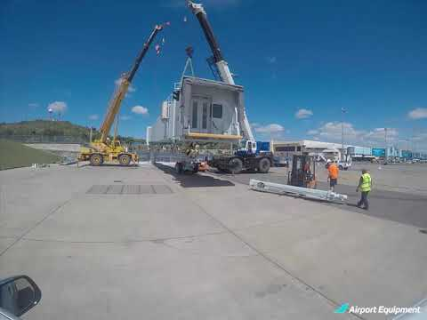 Another Passenger Boarding Bridge Installed By AIRPORT EQUIPMENT
