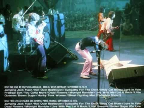 THE ROLLING STONES : MIDNIGHT RAMBLER 1970 ( LIVE )