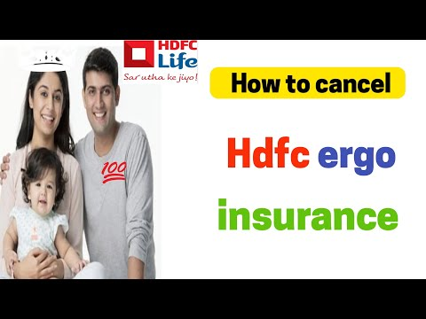 How To Cancel Hdfc Ergo Insurance