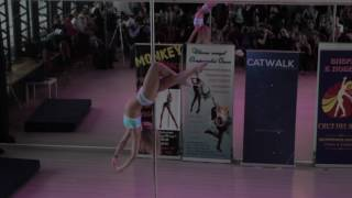 Новикова Татьяна - Catwalk Dance Fest VIIl [pole dance, aerial] 16.04.17.