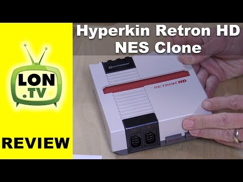 Hyperkin RetroN 1 HD NES Clone Console Review - Plays old Nintendo 8 bit games