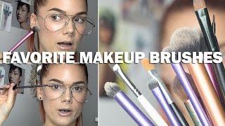 Favorite Makeup Brushes (with subs) - Linda Hallberg Makeup Tutorials Thumbnail