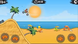 Trò chơi đua xe máy địa hình- Cang Cang Game Play screenshot 5