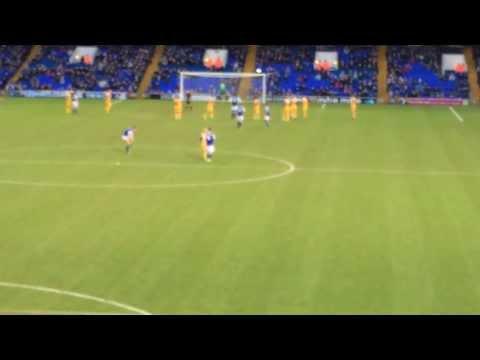 David McGoldrick's goal vs Preston North End