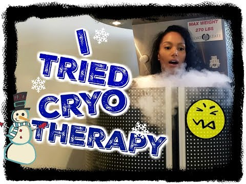 OMG!!! I TRIED CRYOTHERAPY | Does it work? | Watch What Happened!!!