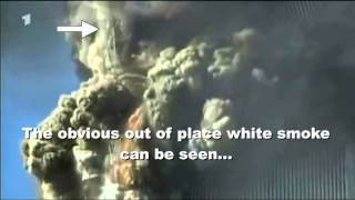 9/11 Close Up of N-E Corner South Tower Explosion 'Extra Details'