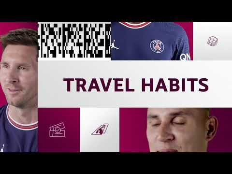 Qatar Airways Presents: PSG Travel Habits with Messi, Ramos, Gueye, Navas, Draxler and Herrera