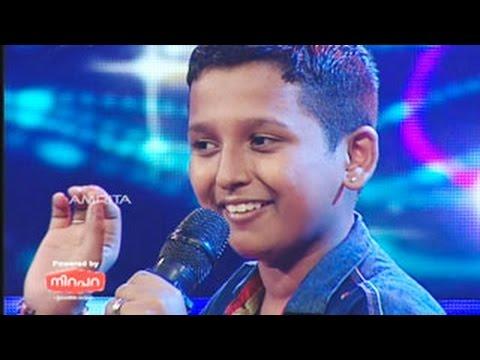 Super Star Junior- 5 | Surya Kiran Singing  shankara nada sarira para...