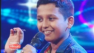 Super Star Junior- 5 | Surya Kiran Singing shankara nada sarira para...