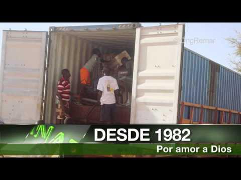 NOTICIA - Remar envía un contenedor a Níger.