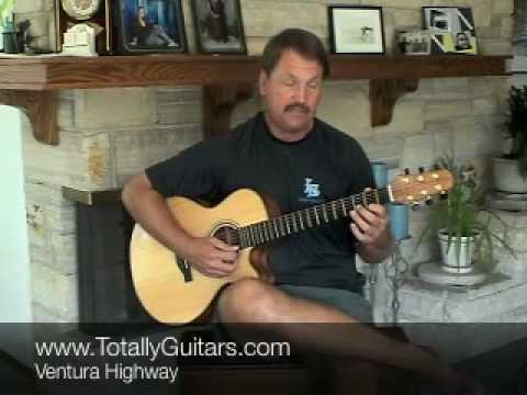 how to play ventura highway