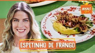Espetinho de frango feito na grelha com molho teriaki | Rita Lobo | Cozinha Prática