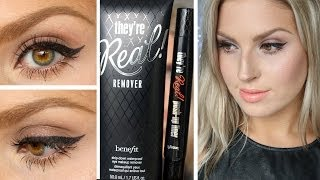 Benefit They're Real Push Up Liner ♡ First Impression u0026 Review!