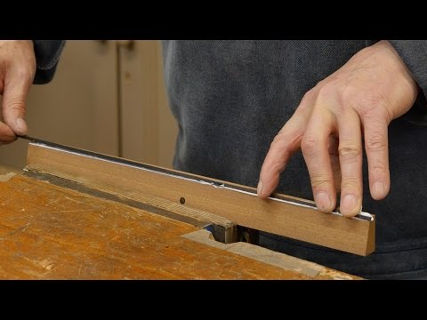 How to make Winding Sticks (part 1) | Paul Sellers