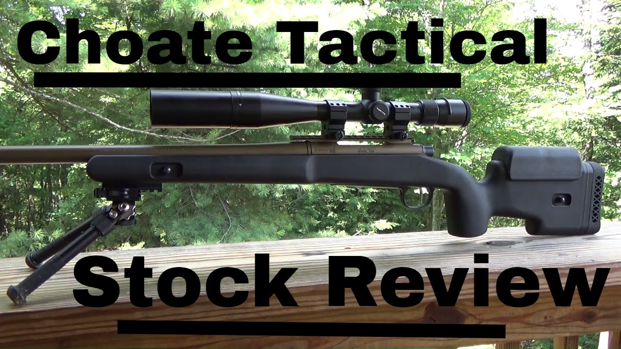 Choate Tactical Rifle Stock Review