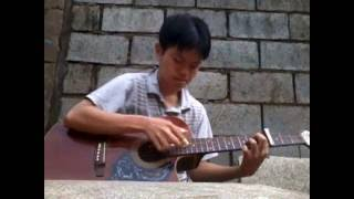 (Inuyasha ost) Futari no kimochi (to love's end) - guitar fingerstyle solo cover