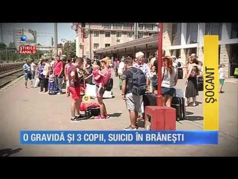 Stirile Kanal D (17.08.2017) - O gravida si 3 copii, SUICID in Branesti!