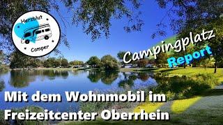 Mit dem Wohnmobil im Freizeitcenter Oberrhein - Baden-Baden