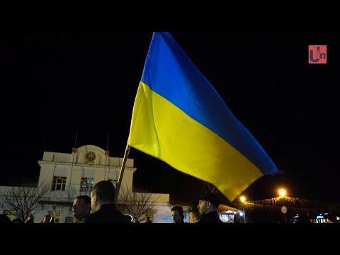 Народне віче. Ужгородці згадали атмосферу Євромайдану