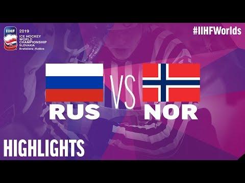 Russia Vs. Norway | Highlights | 2019 IIHF Ice Hockey World Championship