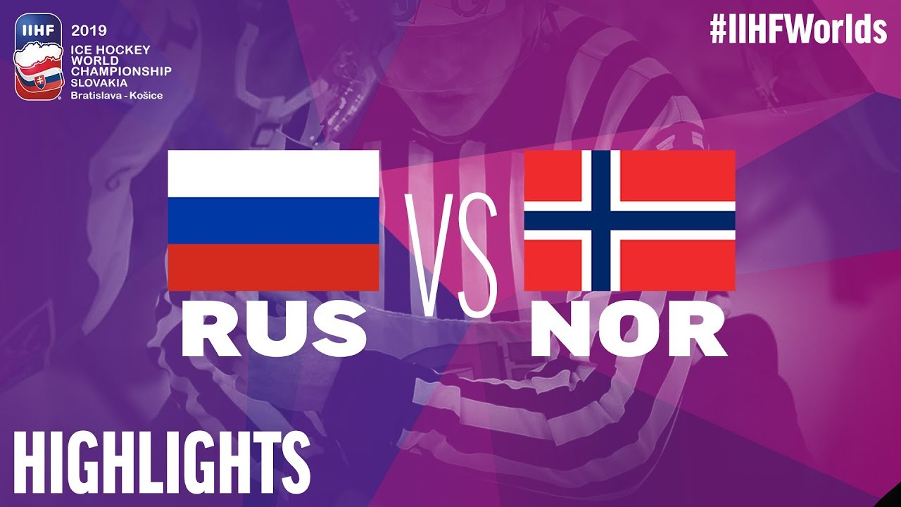 Russia Vs Norway Highlights 2019 Iihf Ice Hockey World Championship Youtube