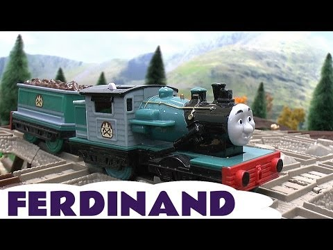 Thomas & Friends Spotlight Ferdinand Trackmaster & Tomy Takara Misty Island Toy Train