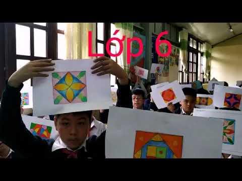 Bài vẽ Trang trí hình vuông – lớp 6 | Tổng quát những kiến thức liên quan đến vẽ trang trí hình vuông lớp 6 đơn giản chính xác nhất