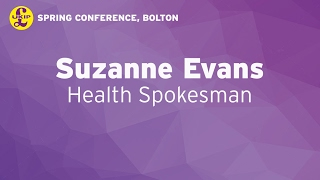 Suzanne Evans in Bolton