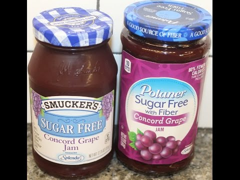 Smucker's vs Polaner: Sugar Free Concord Grape Jam Blind Taste Test