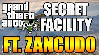 "Gta 5 - ""secret"" Underground Lab In Fort Zancudo!? Part Of The ""jet Pack"" Easter Egg? (gta V)"